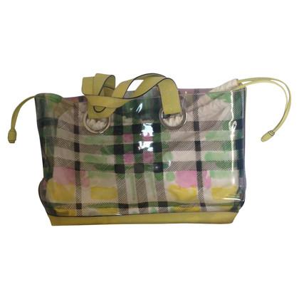 Burberry Vinyl Tote Bag