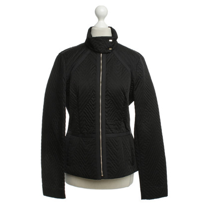 Hugo Boss Steppjacke in Schwarz