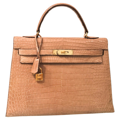 "Hermès ""Kelly Bag 32"" made of crocodile leather"