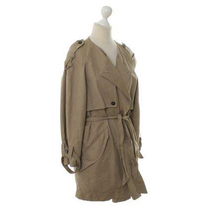 Isabel Marant Etoile Avvolgere il cappotto beige