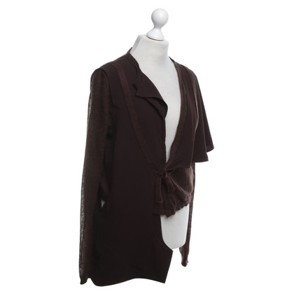 Issey Miyake Vest in Bruin