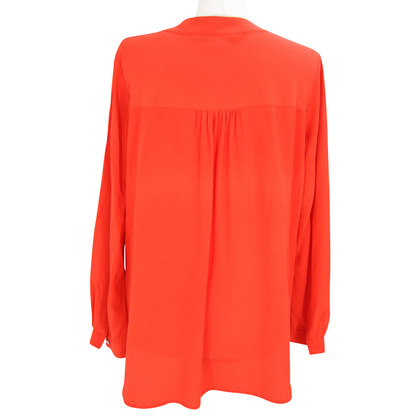 Diane von Furstenberg Silk blouse in red