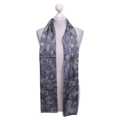 Armani silk scarf with floral print