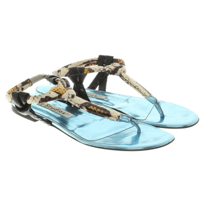 Acne Sandalen in Türkis