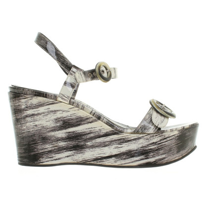Sergio Rossi Wedges of patent leather