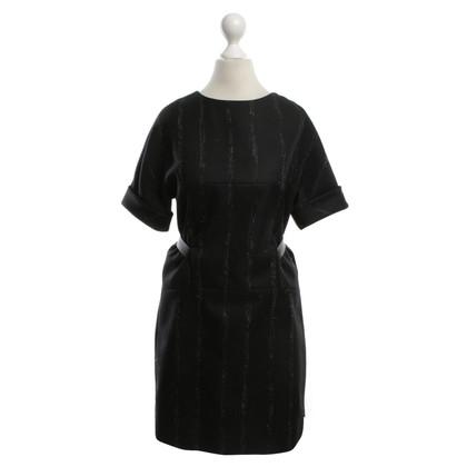 Balenciaga abito di lana in bicolor