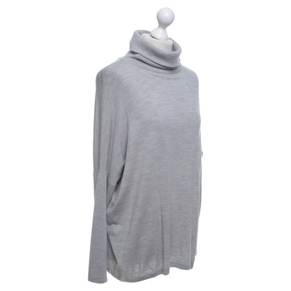 Allude Melted sweater in light gray