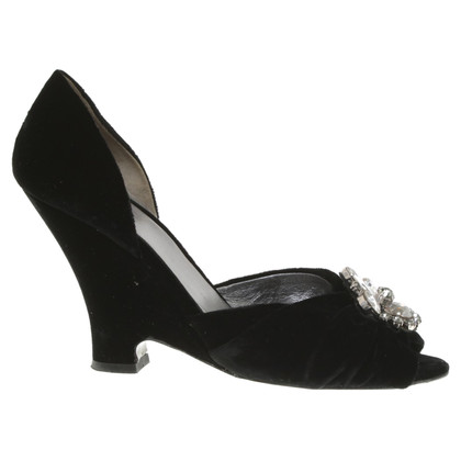 Miu Miu Peep-toes in black