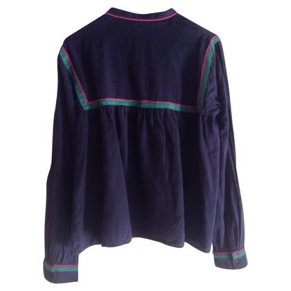 Vanessa Bruno Blue Shirt
