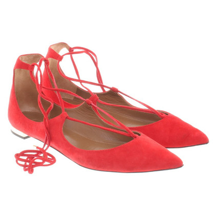 Aquazzura Ballerinas with cords