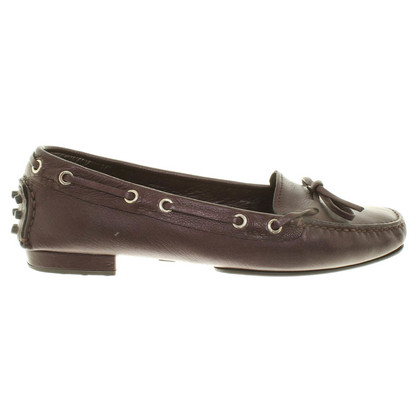 Car Shoe Loafer Metallic