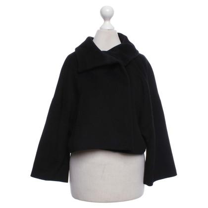 St. Emile Short jacket with angora content