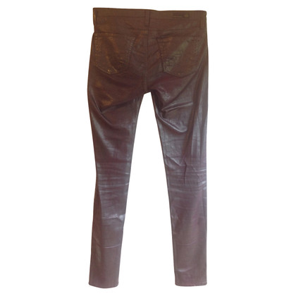 Adriano Goldschmied Broek in lederlook