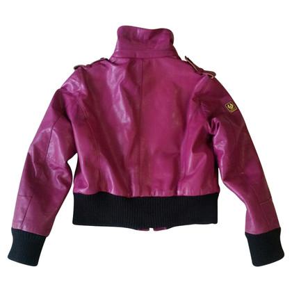 Belstaff Purple leather jacket