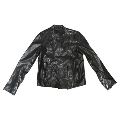 Diesel Black Gold Leather jacket