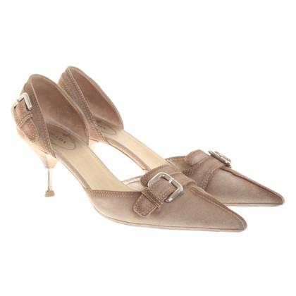 Prada Sandals in lichtbruin
