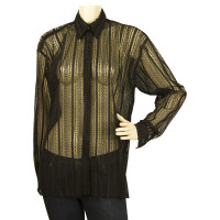 Versace Transparent blouse