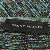 Bruno Manetti Twin set with effect yarn
