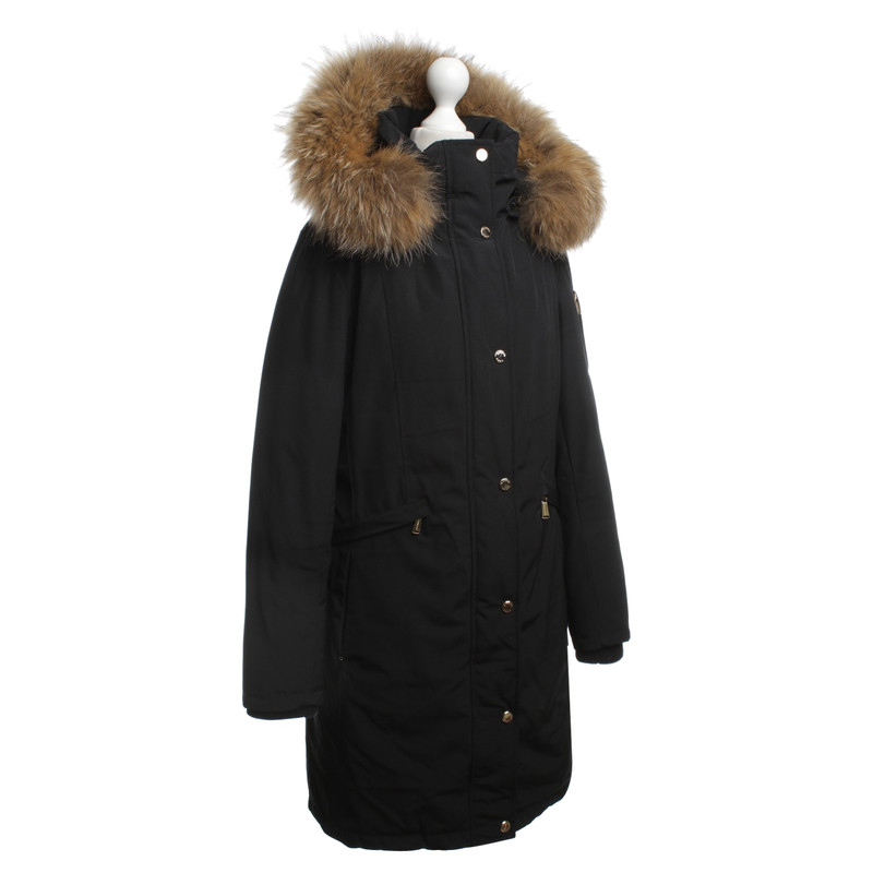 ... Michael Kors Down Coat in Black