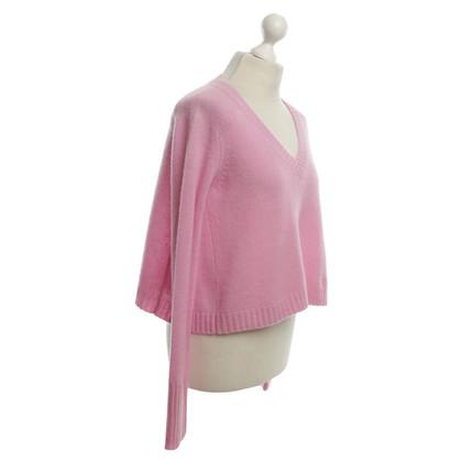 360 Sweater maglioni di cachemire in rosa