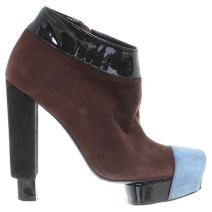 Pierre Hardy Ankle Boots mit Plateau
