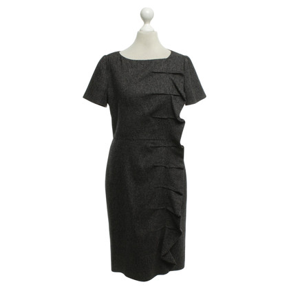 Valentino Bouclé dress in black and white