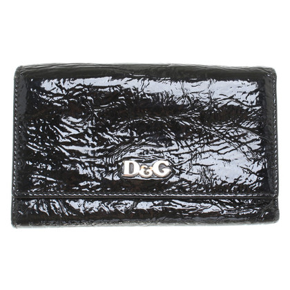 D&G Wallet patent leather