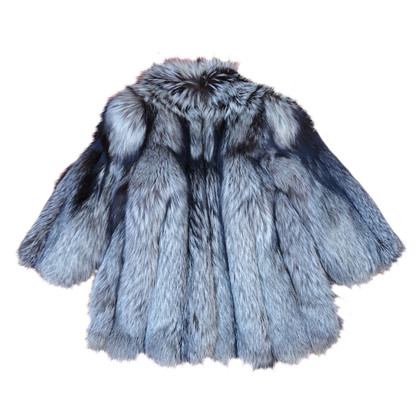 Givenchy Silver Fox Fur