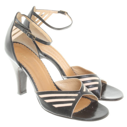 Marc Jacobs Sandals in zwart / nude