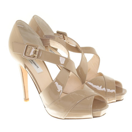 L.K. Bennett Patent leather sandals