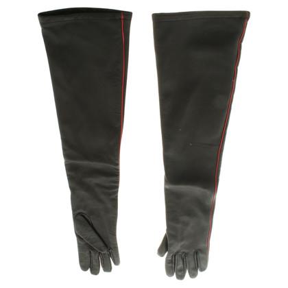 Stefanel Gloves in black