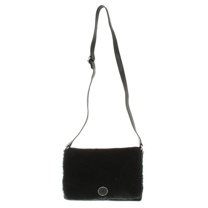 UGG Australia Shoulder bag with woven fur