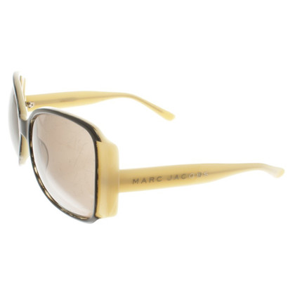Marc Jacobs Sonnenbrille in Creme