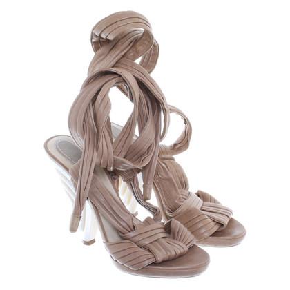 Loewe Sandals beige