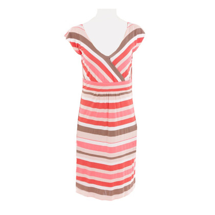 René Lezard Dress with stripes