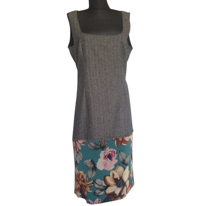D&G Tweed and silk midi dress