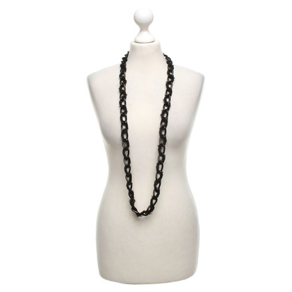 Burberry Long necklace in black