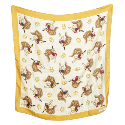 Aigner Silk cloth with horse motif