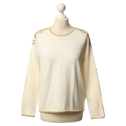 Hoss Intropia Knit sweater with embroidery