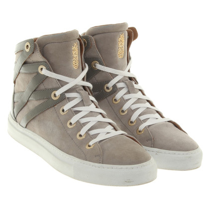 Aquazzura High-top sneakers in grijs