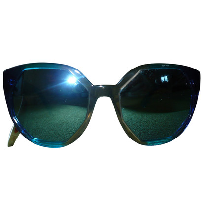 Marc Jacobs Occhiali da sole in Blu / Marrone