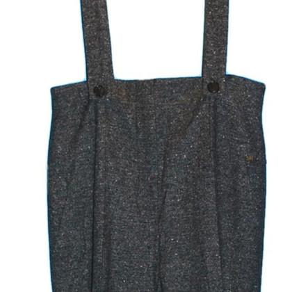 Sonia Rykiel pantaloni di lana con bretelle
