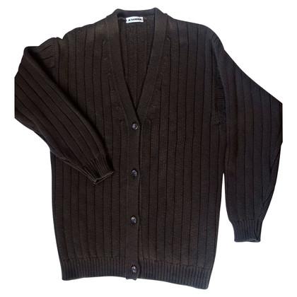 Jil Sander Vintage vest in dikke kasjmier