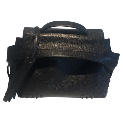 """Tod's """"Wave Bag"""" in nero"""
