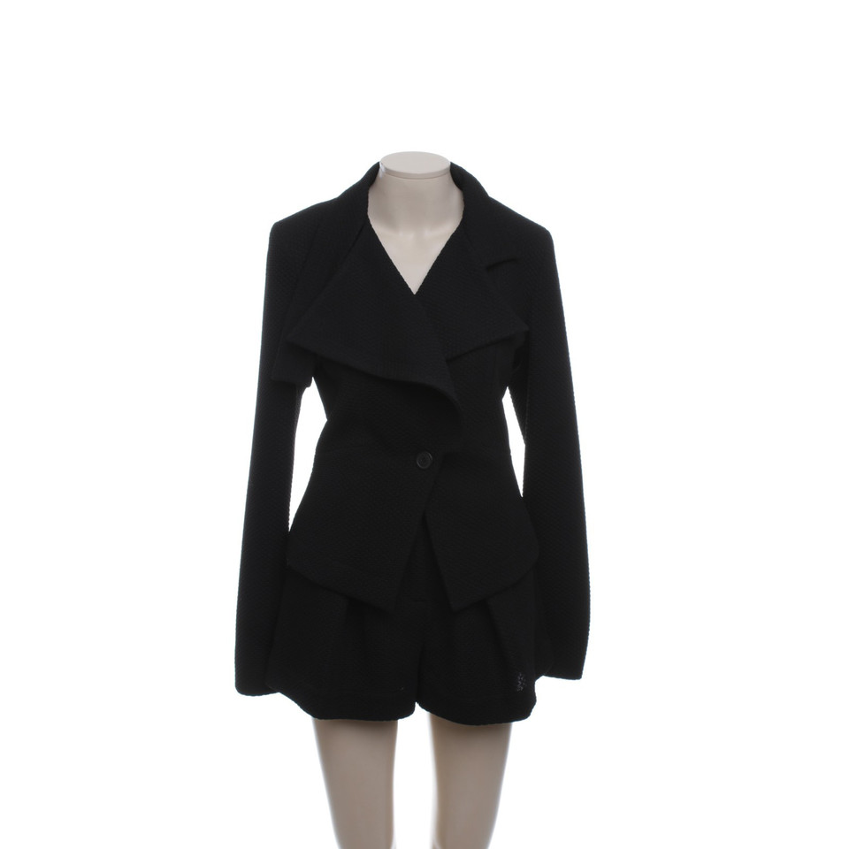 Vivienne Westwood Black suit with Hotpants