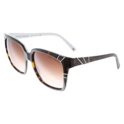 Dolce & Gabbana Sonnenbrille mit Schildpattmuster