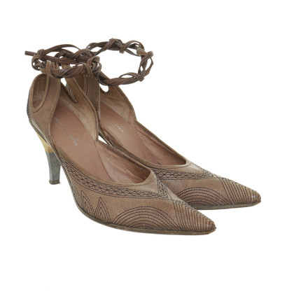 Dries van Noten pumps met veter
