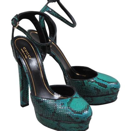 Gucci Python pumps in pelle