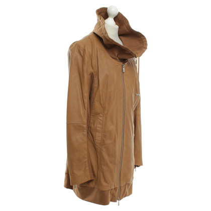 Arma Leather jacket in Camel