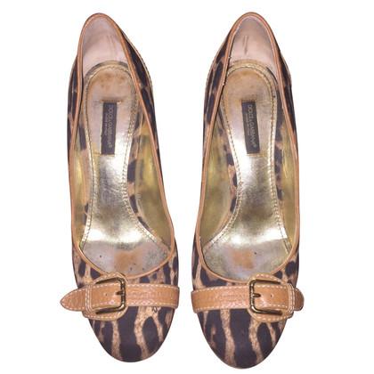 Dolce & Gabbana Pumps mit Leoparden-Muster